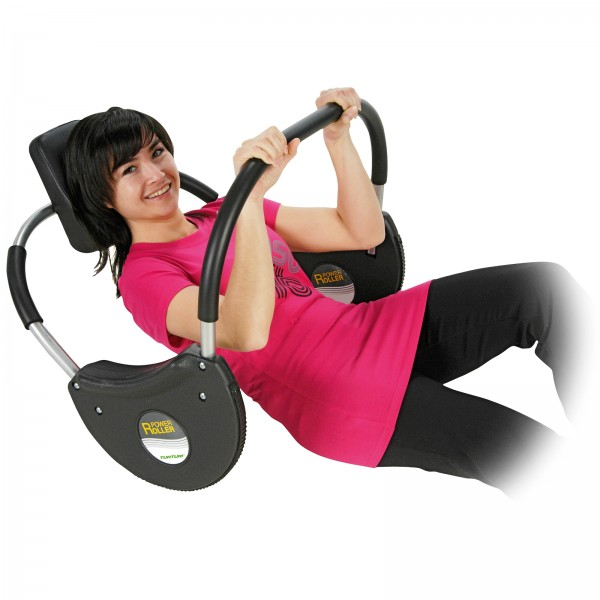 Tunturi Bauchtrainer Power-Roller (ehemals Bremshey Power Roller)