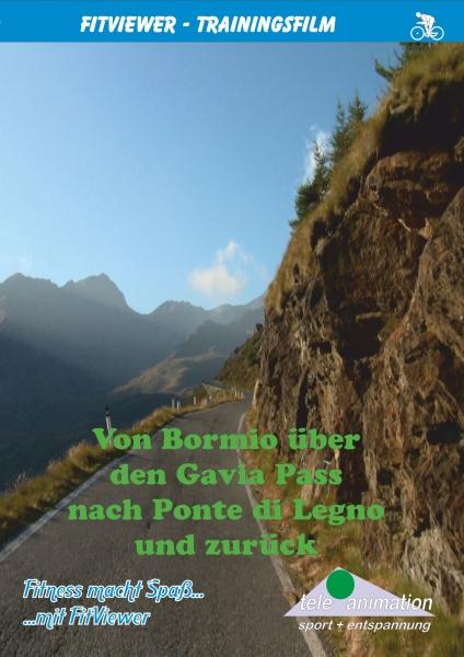 Vitalis FitViewer Film Gavia Pass: Bormio / Ponte di Legno