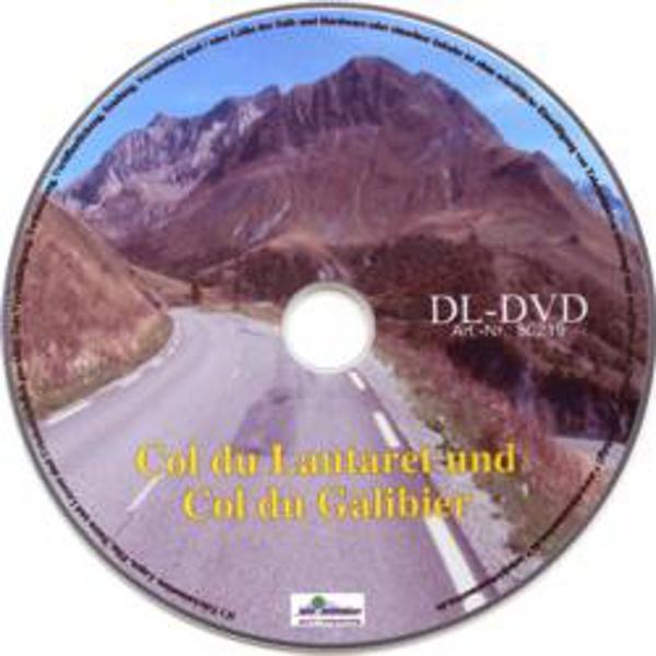 Vitalis FitViewer Film Col du Lautaret/Col du Galibier