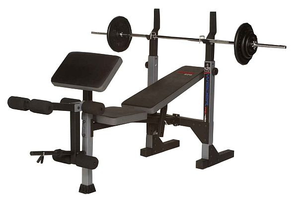 Weider Pro 420 Free Weight Bench best buy at - Sport-Tiedje