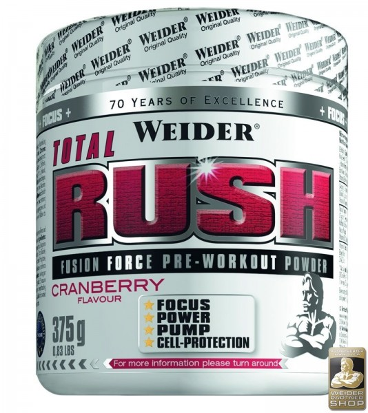 Weider Pre-Workout Powder Total Rush