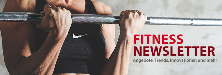 Fitness Newsletter - Angebote - Trends - Innovationen