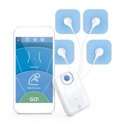 Bluetens-muskelstimulator med app-styring
