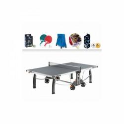 Cornilleau Tischtennisplatte Crossover 500 M Outdoor inkl. Zubehör-Set