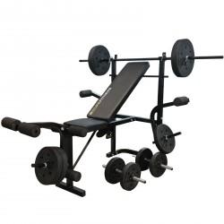 Duke Fitness Hantelbank Set