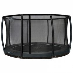 Etan garden trampoline Inground Premium Gold incl. safety net