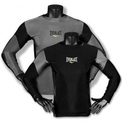 Everlast Men' s SLV Rash Guard Contrast Panel
