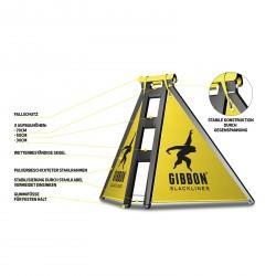 Struttura per slackline Gibbon