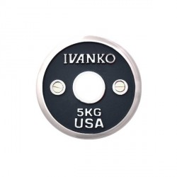 Ivanko Calibrated 50mm Chrome Weight Plate