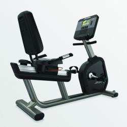 Life Fitness Club Series+ Recumbent Lifecycle, Titanium, Wireless best. aus: