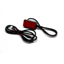 Heart rate receiver for Life Fitness rowing machines