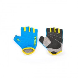 Fitness Gloves Reebok Cyan