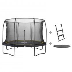 Salta Gartentrampolin Comfort inkl. Leiter und Wetterschutzplane