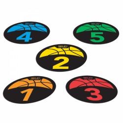 SKLZ Shot Spotz Basketball Punti dei Lanci