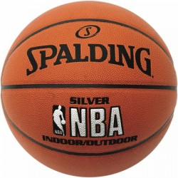 Spalding Basketball NBA Silver