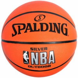 Spalding Basketball Silver Outdoor