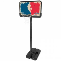 Spalding Basketballanlage NBA Logoman Portable