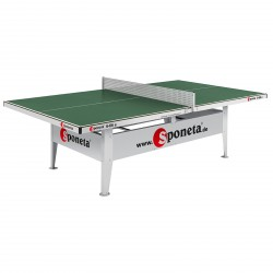 Sponeta outdoor table tennis table S6-66e green