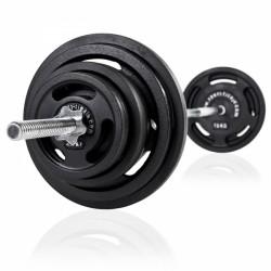 Langhantel Set 90 kg