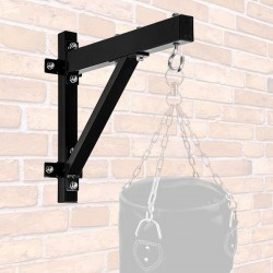 Taurus wall mounting for punching bags