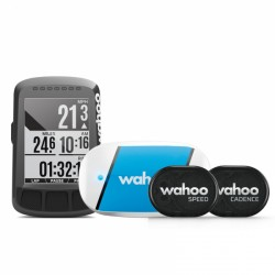 Pack GPS Wahoo Elemnt Bolt con TICKR y Sensor Spd RPM/Cad