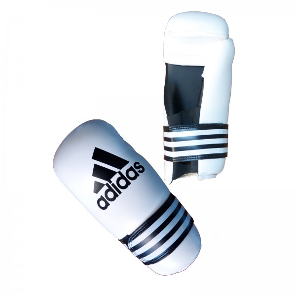 adidas Semi Contact Boxing Gloves white