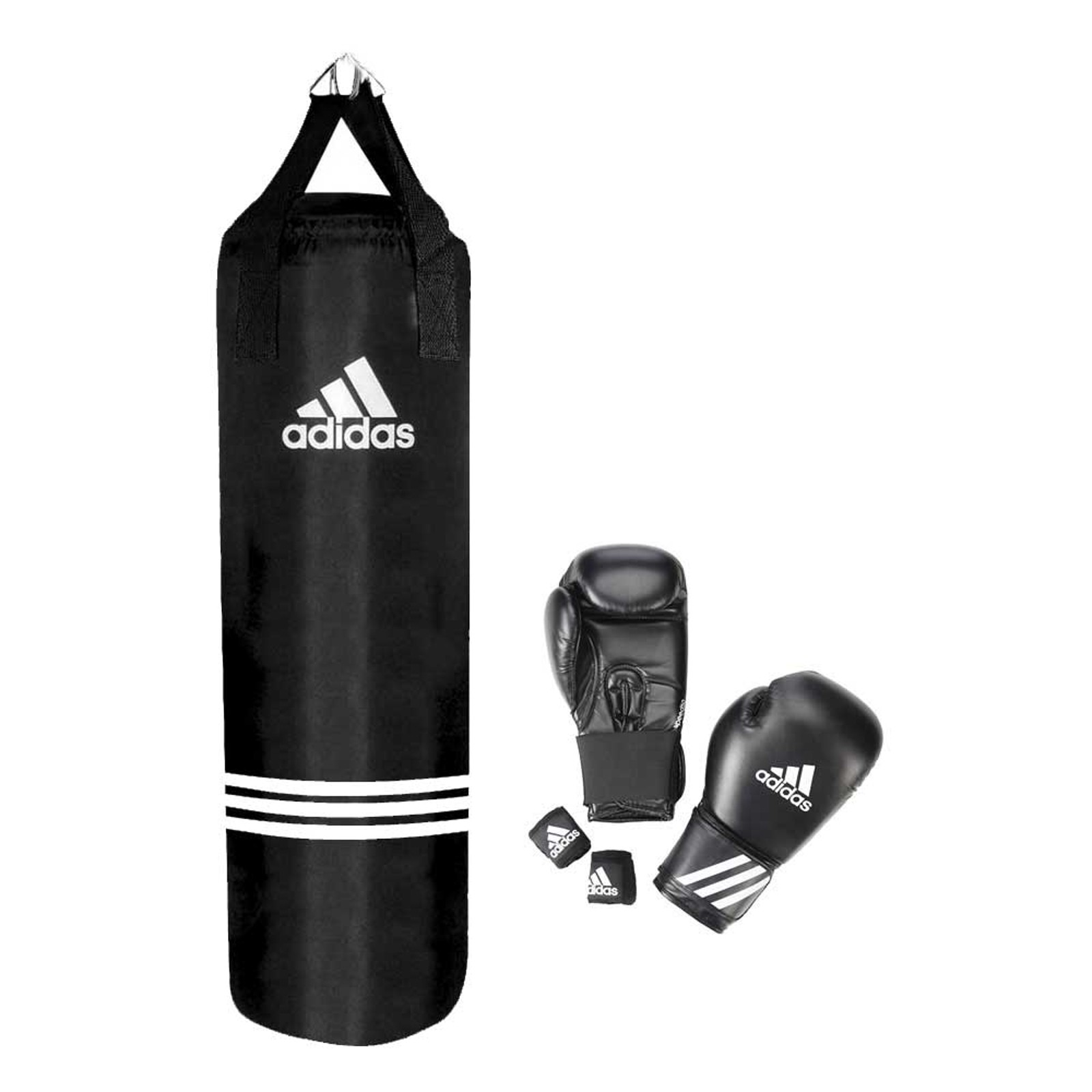 Adidas Long Finger Performance Gloves Weight Lifting: Adidas Boxing Set PERFORMANCE