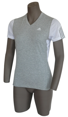 Adidas Response Grey Heather Short-Sleeved Tee