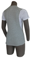 adidas Response Shortsleeved Tee Grey Heather Detailbild