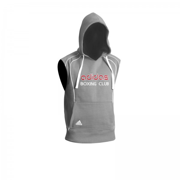 adidas Boxing Club Hoody Sleeveless Grey