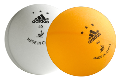 Table Tennis Balls Adidas Competition Sport Tiedje