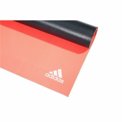 adidas 6mm Dbl Side Yoga Mat, fl red / dark grey acquistare adesso online