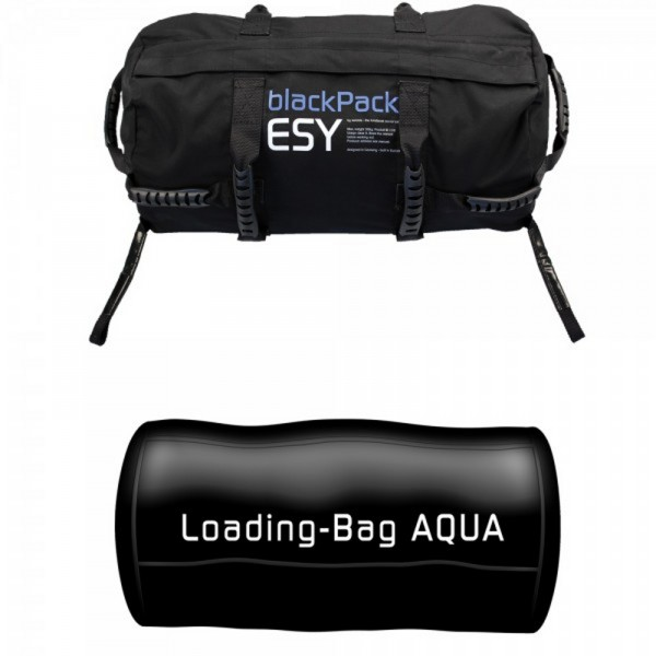 Sac bulgare Blackpack Set AQUA Pack ESY