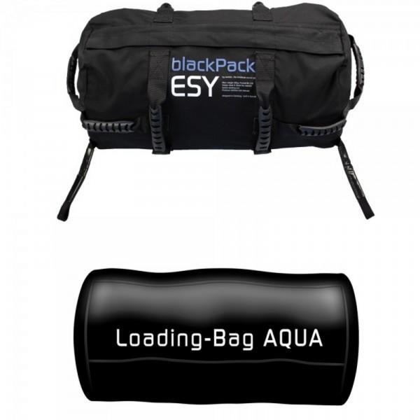 Bolsa lastrada blackPack Esy Aqua