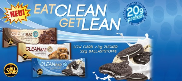All Stars Proteinriegel Clean Bar