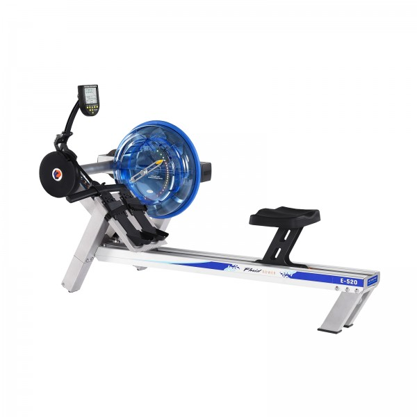 First Degree Fitness Rudergerät Fluid Rower E520 mit HRK
