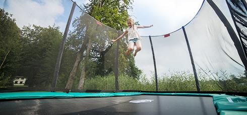 Bild: AirFlow-Sprungtuch: maximaler Springkomfort