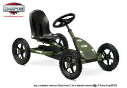 Gokart à pédales Berg Jeep Junior