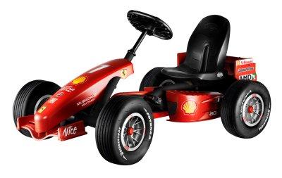 Berg Gokart Ferrari F1 Europas Nr 1 F 252 R Heimfitness