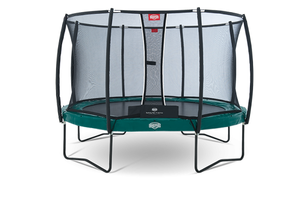 Berg Trampolino Elite+ Regular incl. Rete di Sicurezza T-Serie