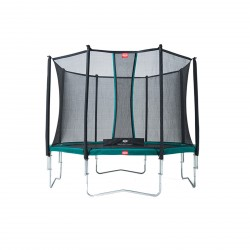 Cama Elástica Berg Favorit + Red de Seguridad Comfort