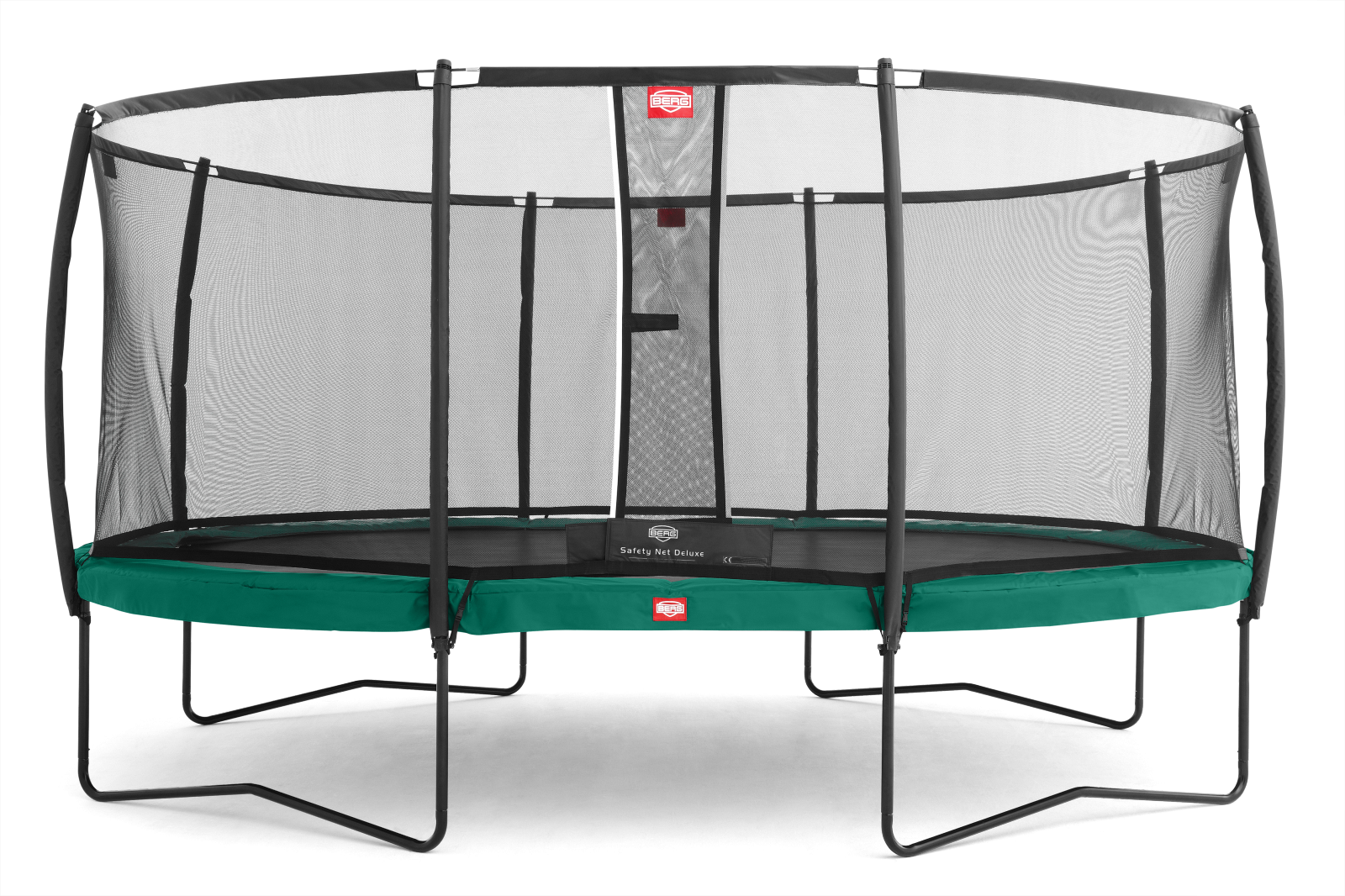 berg trampoline grand champion incl safety net deluxe. Black Bedroom Furniture Sets. Home Design Ideas