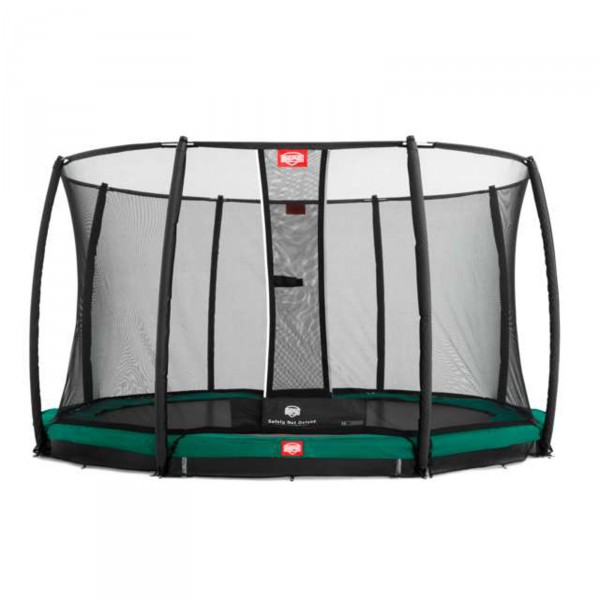 Berg Trampolino InGround Champion incl. Rete di Sicurezza Deluxe