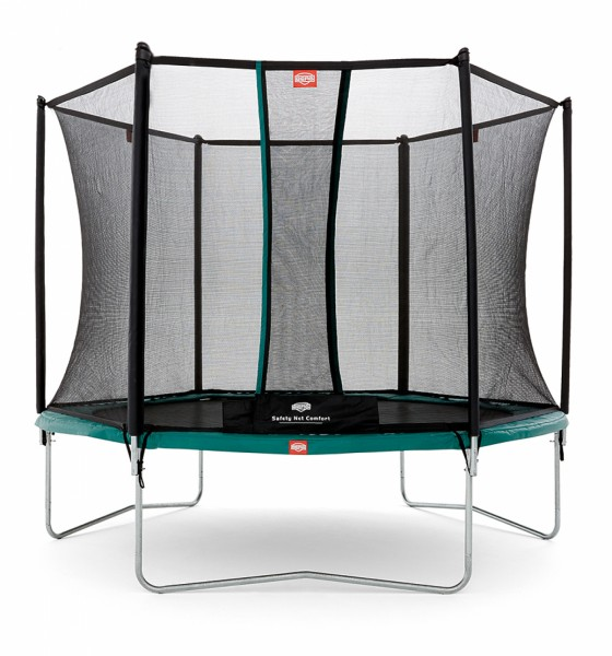Berg trampoline Talent + safety net Comfort