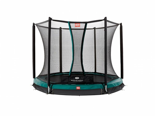 Berg InGround Trampolin Talent + Sicherheitsnetz Comfort