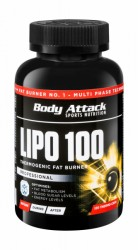 Body Attack Lipo 100 Thermogenic Fat Burner acheter maintenant en ligne