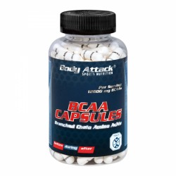 Capsules BCAA Body Attack