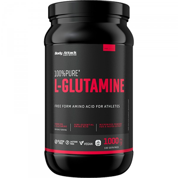 Body Attack 100% Pure L-Glutamine