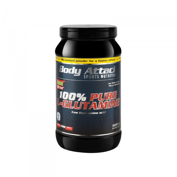 Body Attack Glutamin Pure