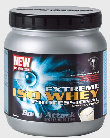 Body Attack Protein Extreme Iso Whey Professional